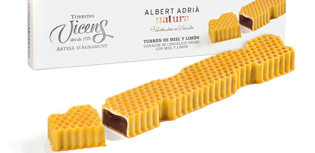 Spanish turrón: Torrons Vicens by Albert Adrià