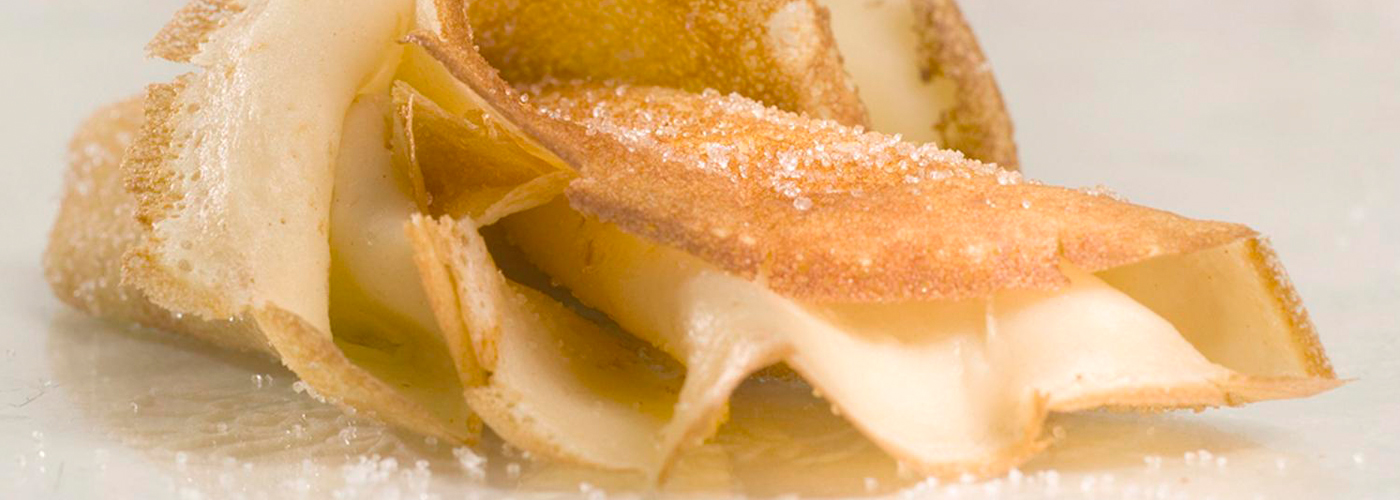 Spanish recipe: Asturias Crepes. Photo by: Toya Legido/©ICEX.