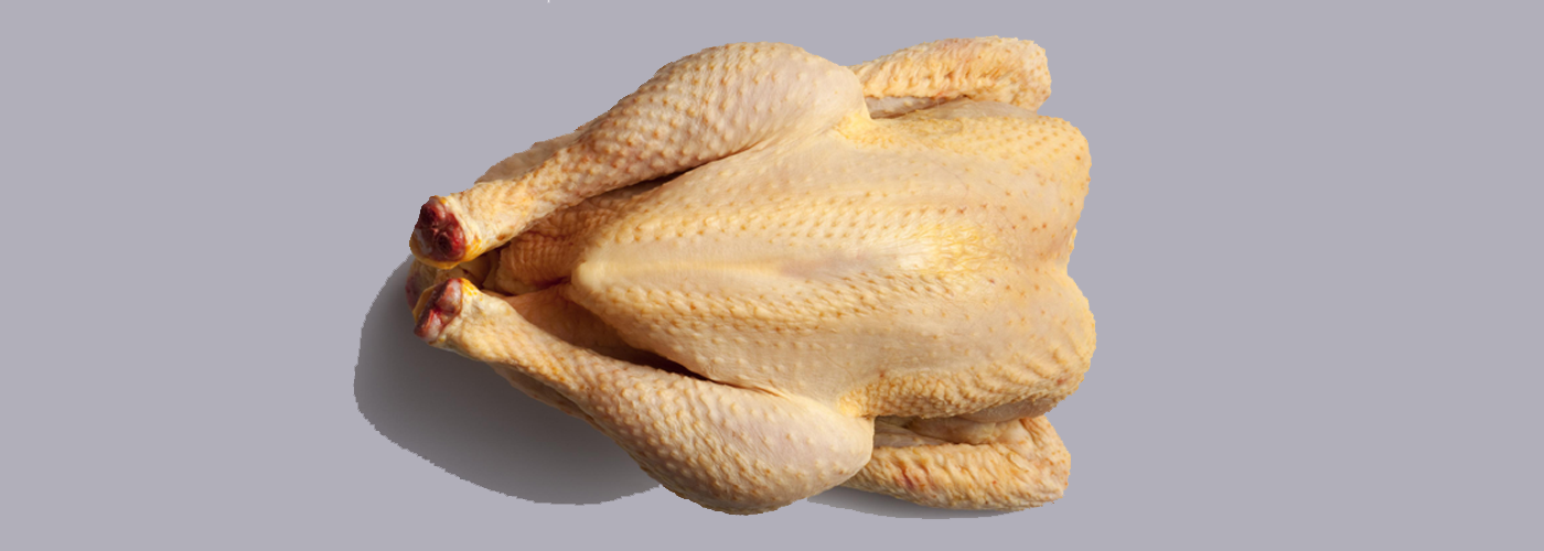 Farm-reared chicken from the Basque Country