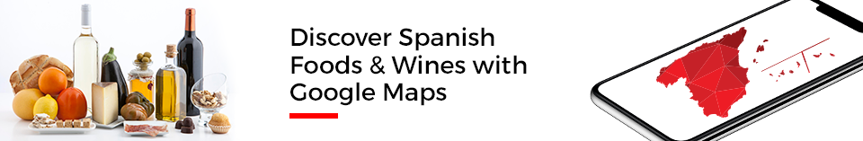 Discover Spanish Wines with  Google Maps