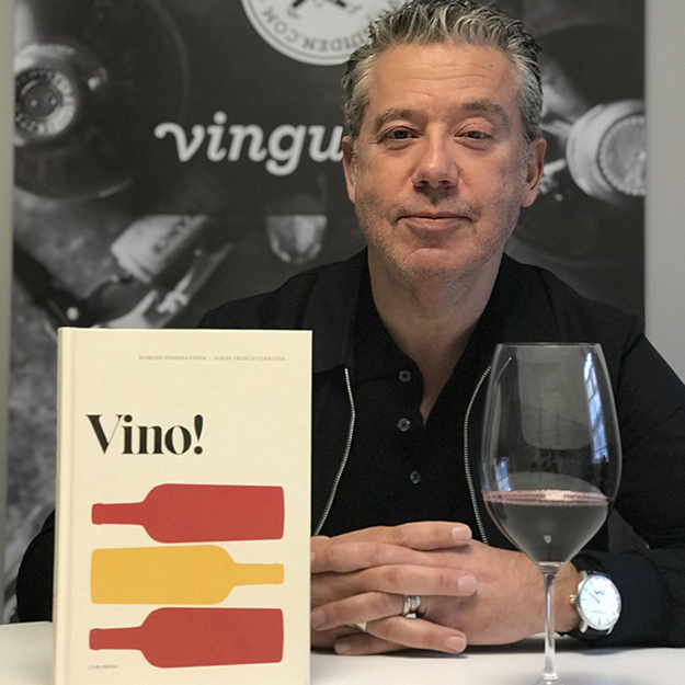 Spanish wine expert Johan Franco Cereceda