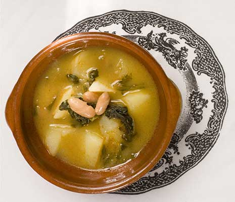 Wine match: Galician Soup