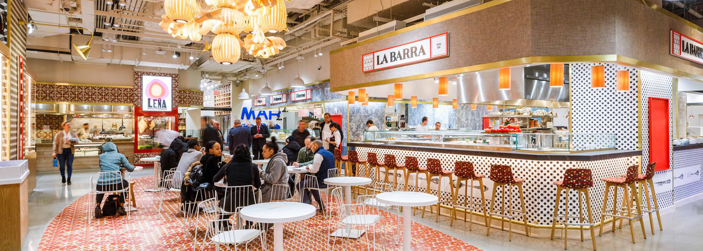 Ambitious Food Hall Mercado Little Spain Opens Today / @ny.eater.com