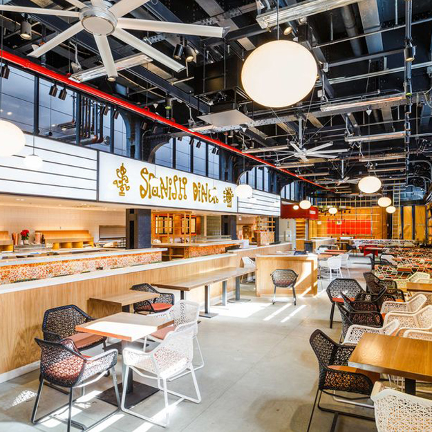 Ambitious Food Hall Mercado Little Spain Opens Today