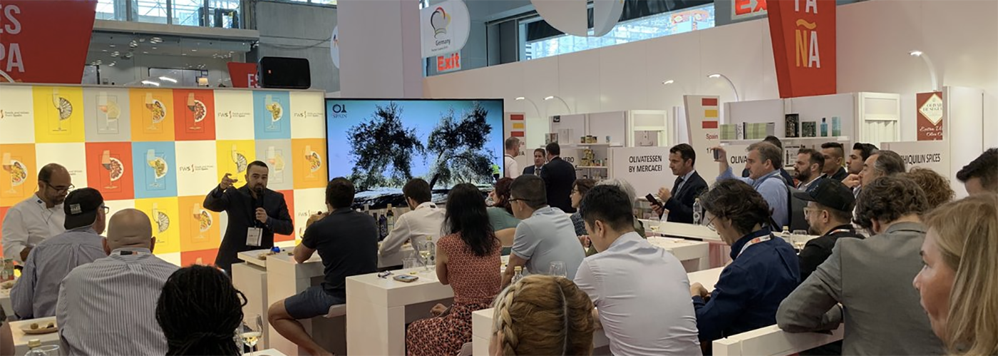 Foods & Wines from Spain at The Summer Fancy Food Show 2019. Photo by: Spain's Trade Commission in NY