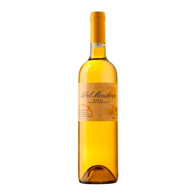 Malvasía wine, by Abel Mendoza winery.