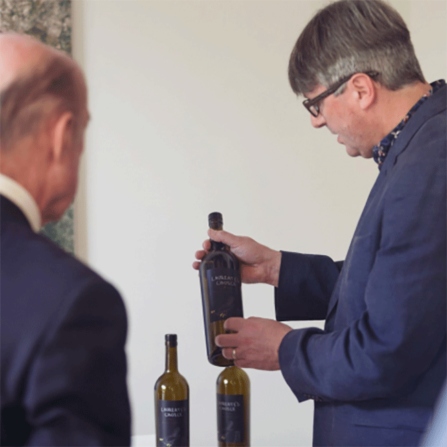 Simon Armitage, Poet Laureate, Travels to Jerez to Collect Butt of Sherry